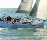 Yacht Sun Odyssey 469 for hire in Marina Le Marin