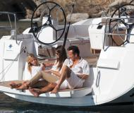 Yacht Sun Odyssey 479 available for charter in Puerto Del Rey Marina