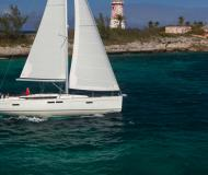 Sailing yacht Sun Odyssey 479 for hire in Marina di Scarlino