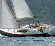 Sailing boat Sun Odyssey 50DS for charter in Marigot Bay Marina