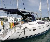 Sailing yacht Sun Odyssey 50DS for hire in Lagoon Marina