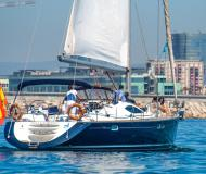 Segelboot Sun Odyssey 54 DS Yachtcharter in Port Olimpic Marina