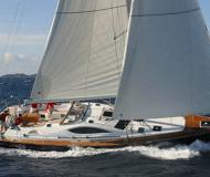 Yacht Sun Odyssey 54 DS available for charter in Le Marin