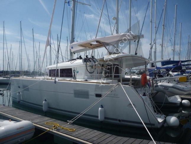 Kat Lagoon 400 Yachtcharter in Marina Mandalina