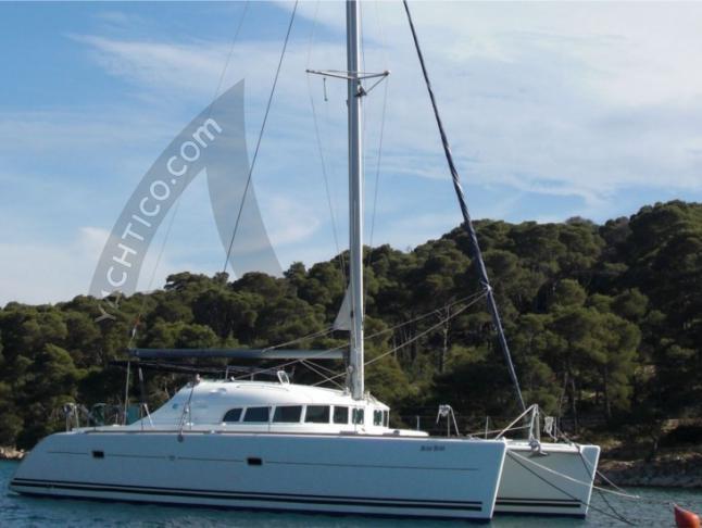 Kat Lagoon 410 in Sukosan Bibinje - Yachtcharter Kroatien