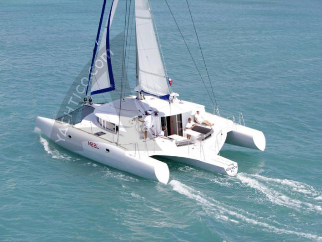 Catamaran NEEL 45 for charter in Marina Le Marin