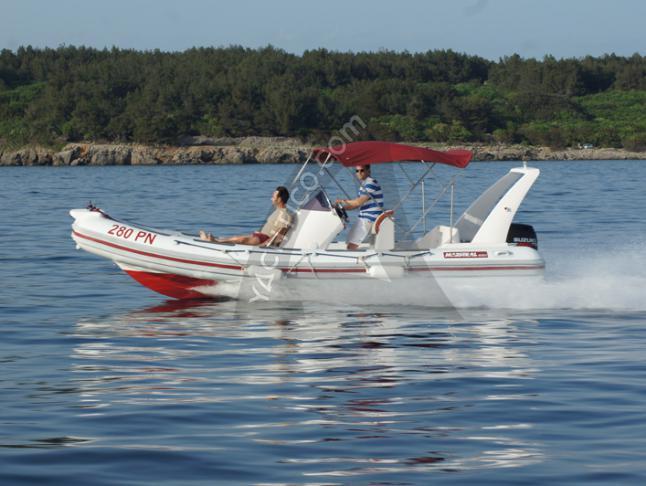 Maestral 650 Motorboot Charter Kroatien