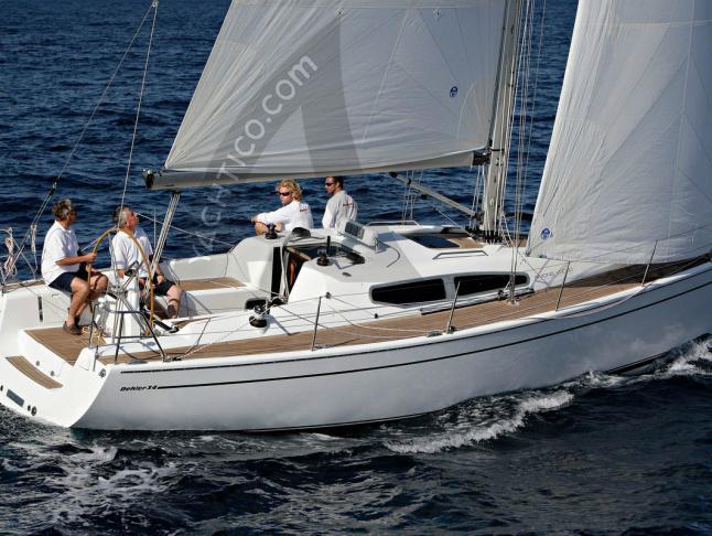 Dehler 35 Segelyacht Charter Monnickendam