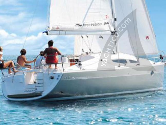 Elan 344 Impression Segelyacht Charter Pula