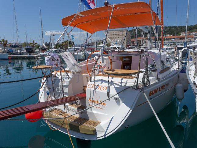 Elan 344 Impression Segelyacht Charter Dubrovnik