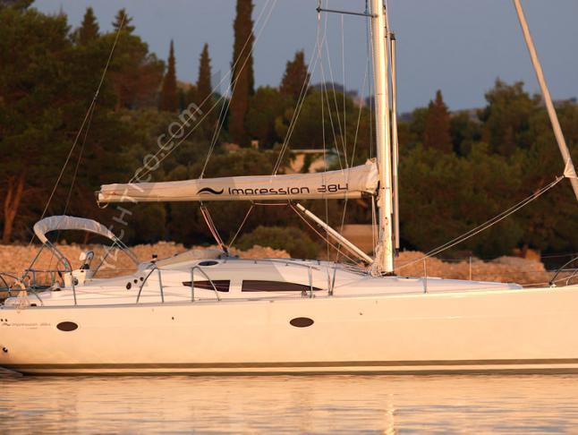 Segelboot Elan 384 Impression Yachtcharter in Dubrovnik