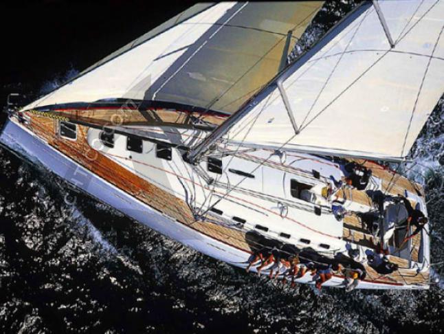 First 47.7 Segelboot Charter Sukosan Bibinje