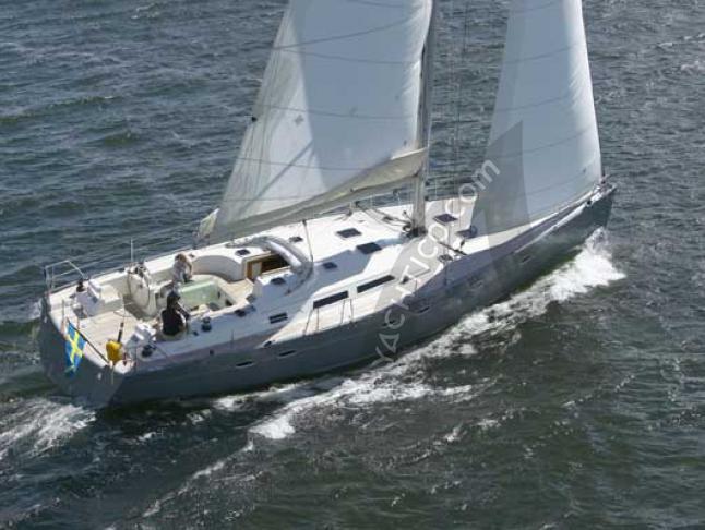 Hanse 540e Segelyacht Charter Bodrum