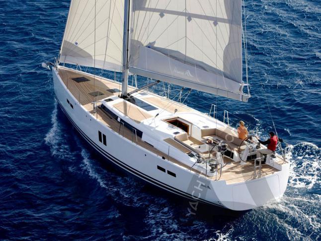 Hanse 545 Segelboot Charter Procida