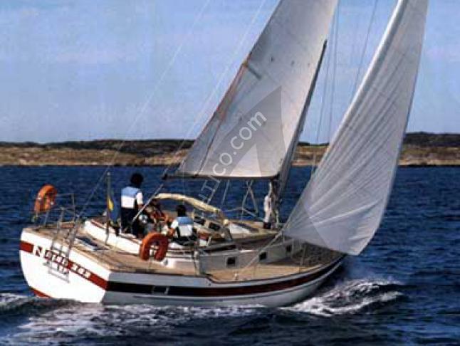 Najad 343 Segelyacht Charter Stillingsön