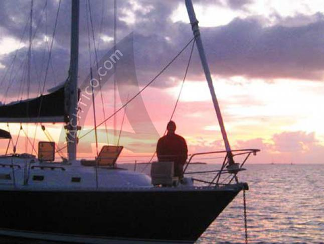Sailing yacht Pearson 36 for charter in Rock Sound Harbour