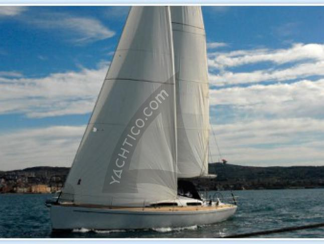 Salona 44 Performance Segelyacht Charter Split