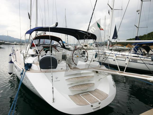 Segelboot Sun Odyssey 54 DS Yachtcharter in Marina di Portisco