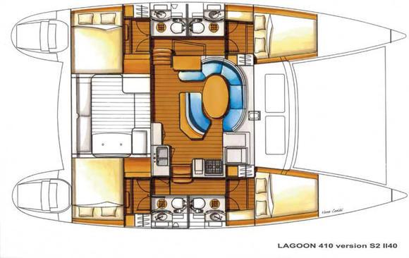 Kat Lagoon 410 S2 in Marina Royale mieten-30173-0