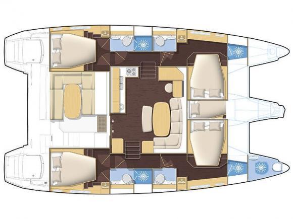 Kat Lagoon 420 chartern in Marti Marina-30654-0
