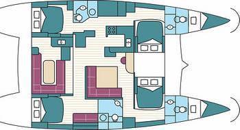 Katamaran Lagoon 500 chartern in Split-28879-0
