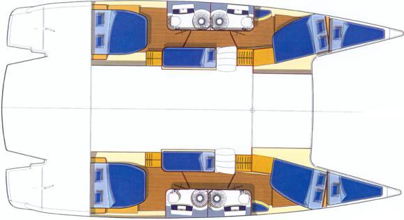 Katamaran Salina 48 in Marine Betina chartern-71998-0