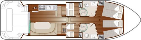 Houseboat Estivale OCTO for charter in Bram-24699-0