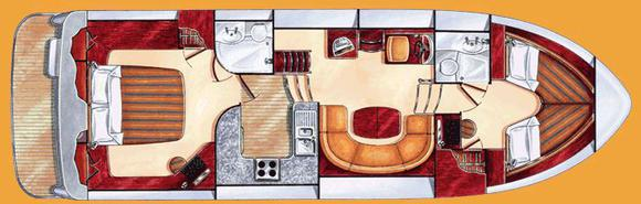 Houseboat EUROPA 400 for rent in Marina Mikolajki-24651-0