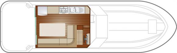 Hausboot NICOLS 1170 in Marina Luebz leihen-32836-0