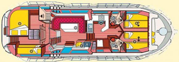 Hausboot Penichette 1400 FB in Marina Roeblinsee leihen-32839-0