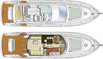 Motorboot Aicon 64 Fly in Marina Villa Igiea chartern-31558-0