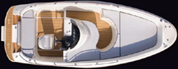 Motorboot Aries Open in Hyeres Harbour leihen-31429-0