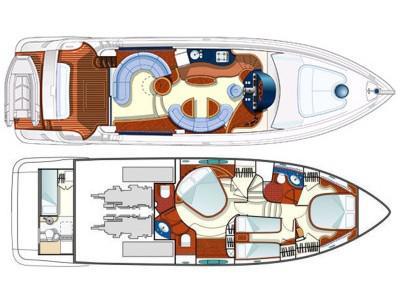 Motoryacht Azimut 55 chartern in Marina Punat-31087-0