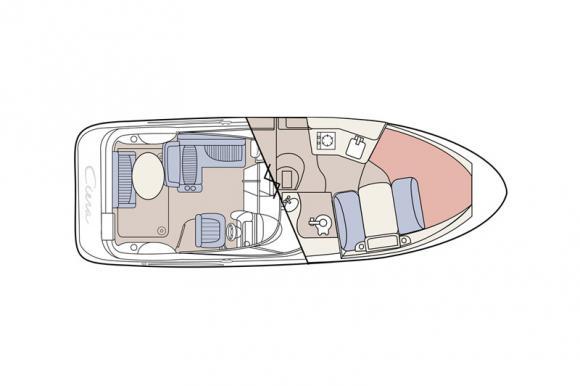 Bayliner 275 Ciera Motoryacht Charter Krk-30553-1