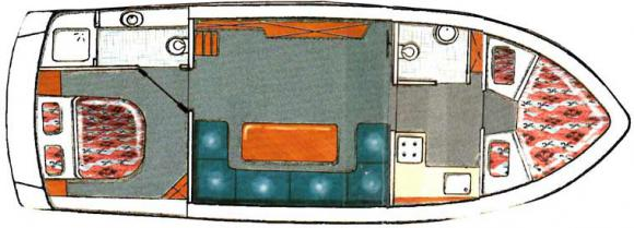 Motoryacht Gruno 35 Compact Sport in Marina Bootscenter Keser chartern-29593-0