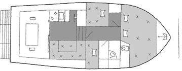 Motoryacht Yachtcharter in Betina-29644-0