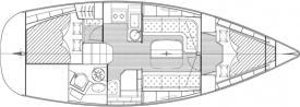 Segelboot Bavaria 33 Cruiser in Can Pastilla chartern-29420-0