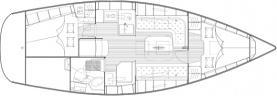 Segelyacht Bavaria 34 Cruiser in Marina Lauterbach chartern-29398-0