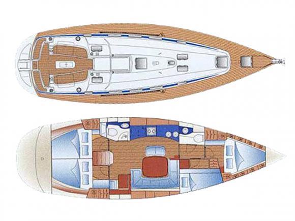 Yacht Bavaria 44 chartern in Cecina-31639-0