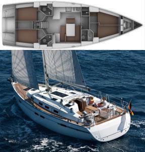 Segelyacht Bavaria 45 Cruiser in Marina Villa Igiea leihen-29929-0