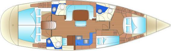 Segelyacht Bavaria 49 in Bodrum chartern-30378-0