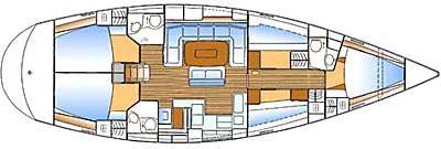 Yacht Bavaria 50 in Kastela mieten-30674-0