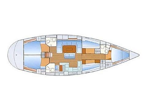Segelboot Bavaria 50 Yachtcharter in Marina Dalmacija-28527-0