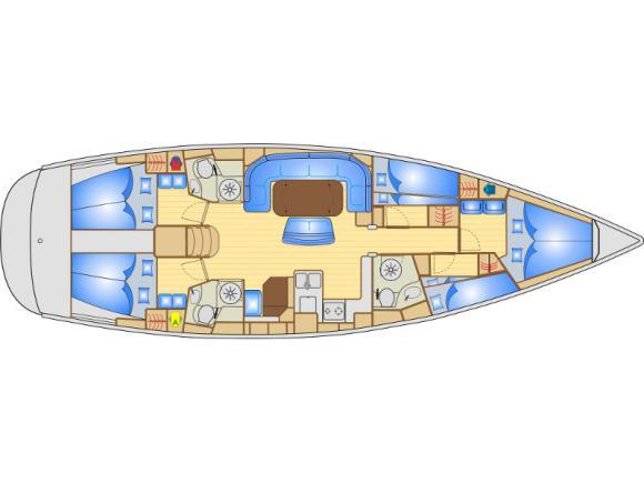 Yacht Bavaria 50 in Marina Punat leihen-30219-0