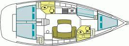 Yacht Cyclades 43.4 in Marina di Portorosa ausleihen-71043-0-0