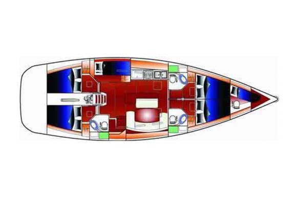 Segelyacht Cyclades 50.5 Yachtcharter in Portisco-29492-0