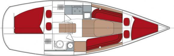 Dehler 29 Segelyacht Charter Monnickendam-29101-0