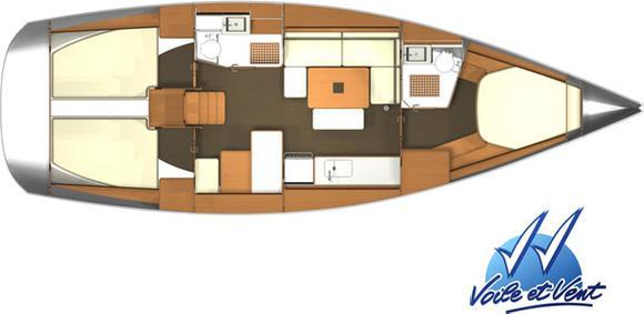 Yacht Dufour 405 in Hyeres Harbour ausleihen-30385-0