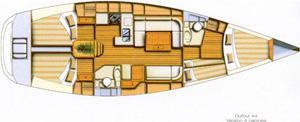 Segelboot Dufour 44 in Castiglione della Pescaia leihen-30162-0