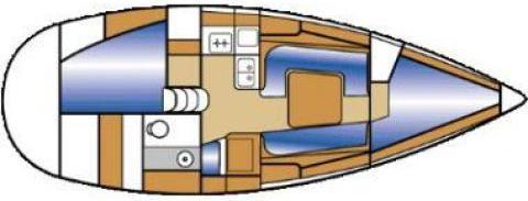 Segelboot Elan 333 in Sukosan Bibinje ausleihen-35785-0